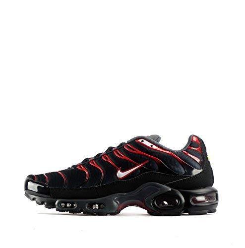 Nike Air Max pi TN Tuned Scarpe Da Uomo, Black Red, 41 EU