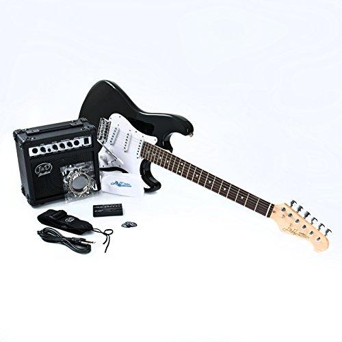 E-Gitarre ST Pack BK Black