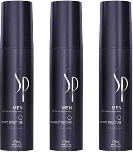 Wella SP Men Defined Structure Cream 3x100 ml