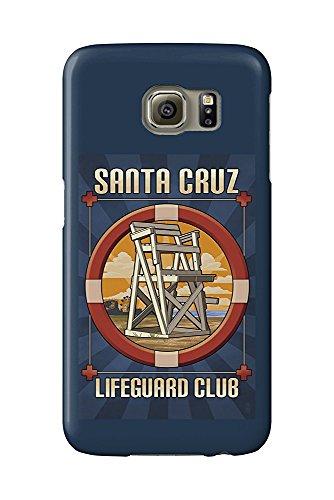 Lifeguard Club (Santa Cruz, California - Lifeguard Club (Galaxy S6 Cell Phone Case, Slim Barely There))