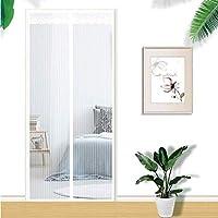 XUENUO Magnetic Screen Door, 37X87 Fly Screen Magnetic Curtain, Insect Protection, without Drilling, Magnetic Sliding Door for Balcony Door Living Room Patio Door,95×200cm(37×79inch)