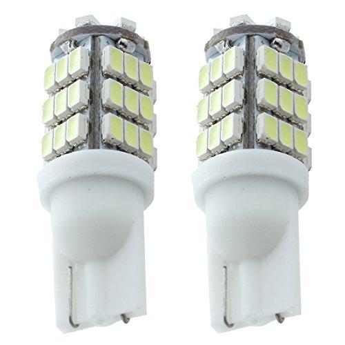 SODIAL(R) Paire T10 42 SMD LED Lampe lumiere de voiture KFZ 12V Blanc W5W