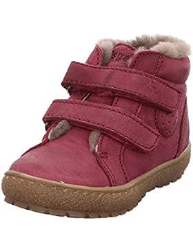 Bisgaard Sneaker m. Fell Klettverschluß pink