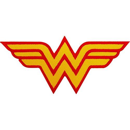 Wonder Woman Patch Bestickt Eisen Sew der T-Shirt Tasche Fancy Kleid Kostüm Badge