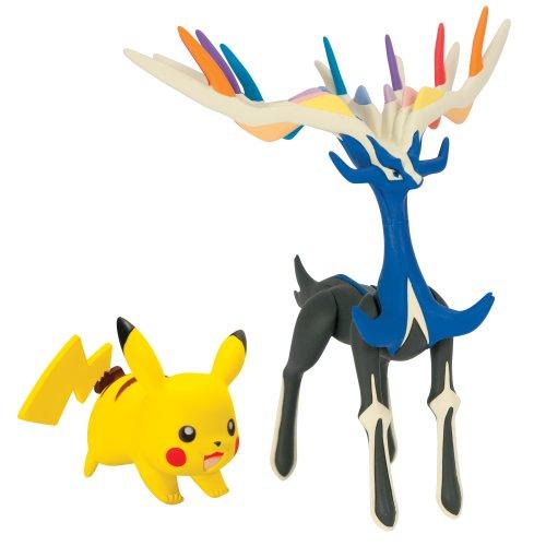 Pokémon - figure leggendarie e Pikachu (Pikachu - Xerneas) (Bizak 30.698.531)