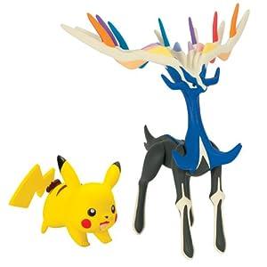 Pokèmon - Figuras Legendaria y Pikachu (Pikachu - Xerneas) (Bizak 30698531)