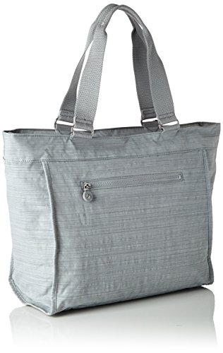 Kipling Damen New Shopper L Tote, 48.5x34x17.5 cm Grau (Dazz Grey)