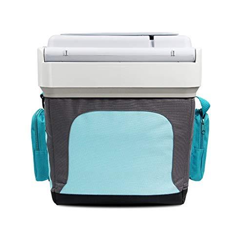 HDZWW 24L Auto Kühlschrank Auto und Zuhause Dual-Use-Auto Mini Home Kühlung Weinkühler Klasse Ganz ruhig Mini Ideal für Hotels Umweltfreundliche A +, Ideal für Küche, Schlafzimmer oder Büro