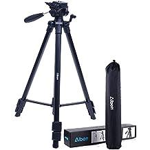 "Tripod-Albott 64"" Camera Tripod Portable Aluminium Lightweight with Carrying Bag for DSLR Cameras Canon Nikon Petax Sony Golden"