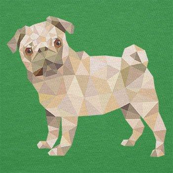 Texlab–Poly Pug–sacchetto di stoffa Verde