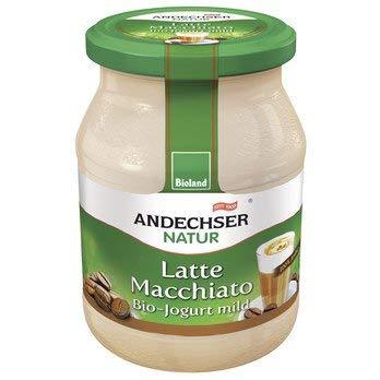Andechser Natur Bio Bio Jogurt Latte Machiatto 3,7% (6 x 500 gr)