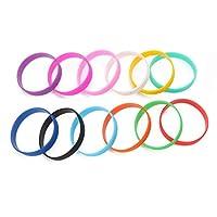 Guoyy Fitness Power Bands Men Basketball Sports Energy Wristbands Silicone Bracelets