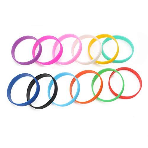 Guoyy Fitness-Kraftbänder Männer Basketball Sport Energie Armbänder Silikon Armbänder - Kleine Kinder Lime Bekleidung