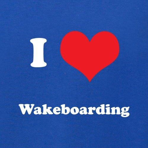 I Love Wakeboarding - Herren T-Shirt - 13 Farben Royalblau