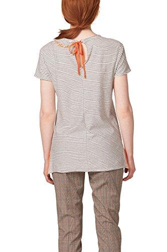 edc by ESPRIT Damen T-Shirt Weiß (Off White 110)