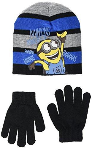 Universal Jungen Ninja Tortlues Tmnt Mütze & Handschuh-Set Gr. 2.5, schwarz