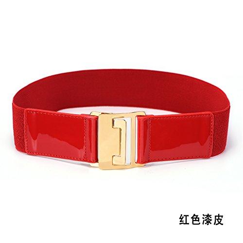 la-mode-feminine-courroie-elastique-stretch-stretchla-peinture-rouge69cm