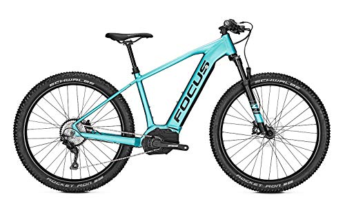 Focus Jarifa² 6.8 Plus Bosch Touren & Sport Elektro Mountain Bike 2019 (XL/52cm, Blue)