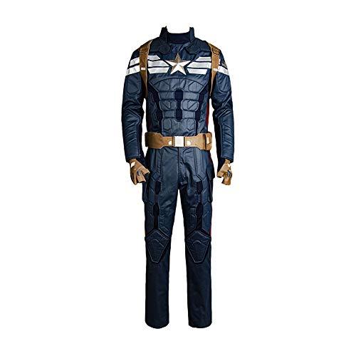 MingoTor Superheld Uniform Outfit Cosplay Kostüm Herren ()