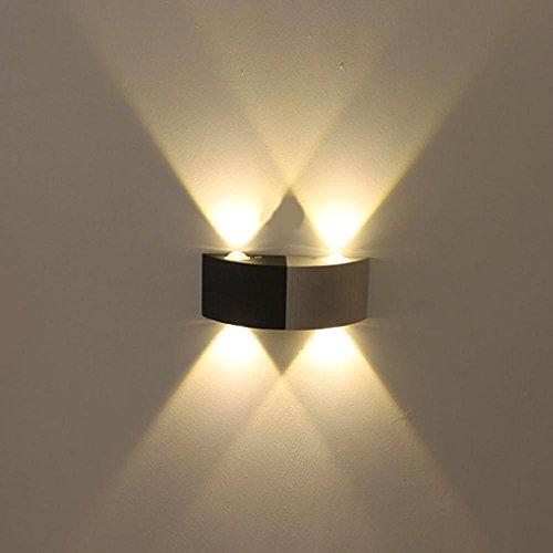 YAYONG LED Einfache moderne der Wandleuchte Doppel Kopf Decke, white light