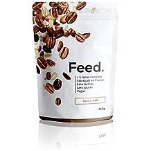 Naturalmente sin lactosa. Feed. - 1 Bolsa de 5 Comidas Café - Comida Completa - 100% Vegana