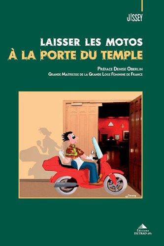 Laisser les motos  la porte du temple