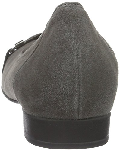 Gabor Shoes Comfort Sport, Ballerine Donna Grigio (zinn 29)
