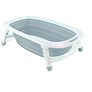 iSafe Foldable Baby Bath - Grey