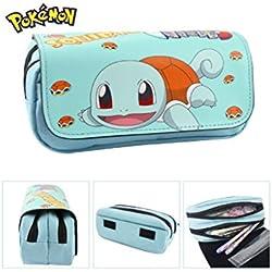 Astuccio Scuola 2scomparti Squirtle Pokemon Go
