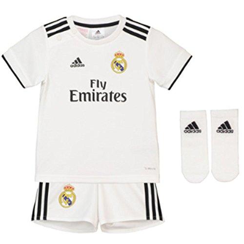 b168e926038 adidas Real Madrid Minikit, Unisex bebé, Blanco, 74 - Gran Vía Madrid