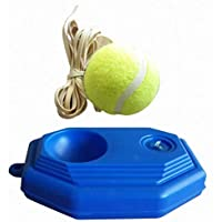 Delicacydex Tamaño portátil Rebound Tennis Entrenador Set de autoaprendizaje Practical Tennis Principiante Training Aids Practice Partner Equipment