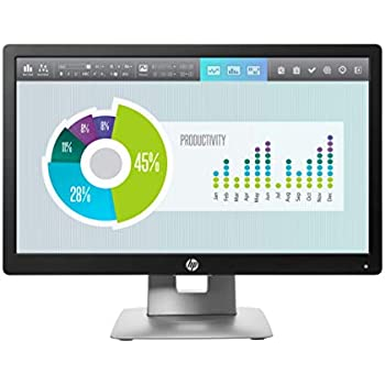 HP EliteDisplay E202 - Monitor (1600 x 900 Pixeles, LED, Not supported, IPS, 640 x 480 (VGA), 720 x 400, 800 x 600 (SVGA), 1024 x 768 (XGA), ...