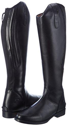 HKM Bottes d'équitation Homme Rimini Longueur standard/Largeur Noir - Noir