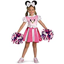 Minnie Mouse Cheerleader Child Costume (4-6) by Halloween FX
