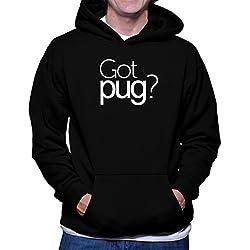 Sudadera con capucha Got Pug?