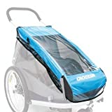 Regenverdeck f.Kinderanh.Croozer 2010 für Croozer 2010 Kid for 1