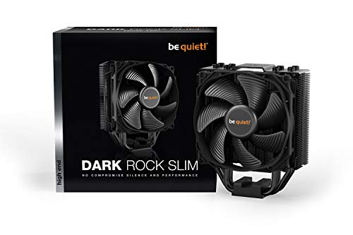 Be Quiet Dark Rock Slim Air Tower CPU Cooler Negro Carcasa de Ordenador
