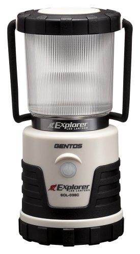 ジェントス LEDランタン エクスプローラー SOLシリーズ 【明るさ380ルーメン/連続点灯14時間】 SOL-036C