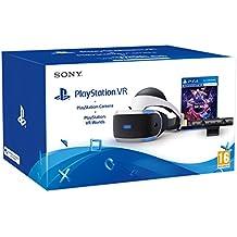 Bigben Interactive - PS4OFVRSTAND Soporte Para PlayStation VR Con Licencia Oficial (PS4) + Sony - PlayStation VR + Cámara + VR Worlds