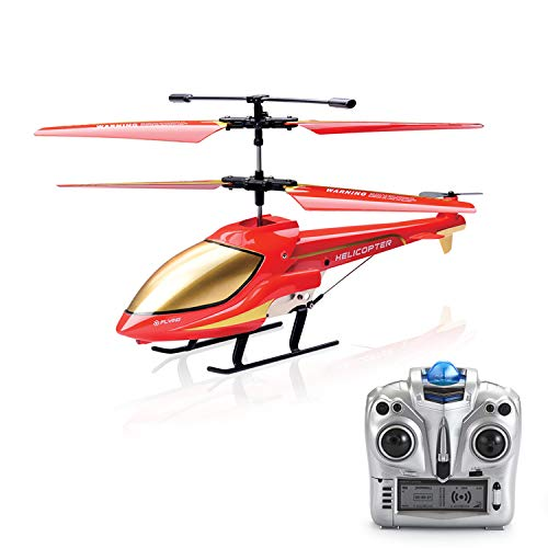 RC Helicopter, Remote Control Helicopter Indoor 3.5 Channels with Gyroscope Gift Toy for Children (Color 2)