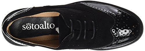 Sotoalto Damen Clove Sneaker Black (Schwarz)