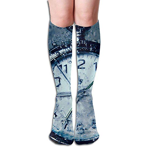 Funny Bag Tube High Knee Sock Boots Crew Creativity Thought Compression Socks Long Sport Stockings 19.7in (50cm) (Welly Sock Liner)