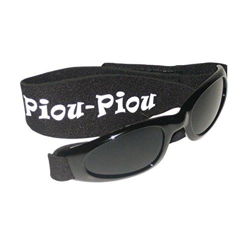 Piou Piou gafas para niños de 2 a 5 años - Negro