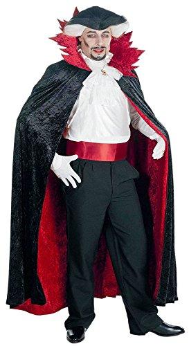 Graf Dracula Umhang für Erwachsene zum Vampir Kostüm - schwere (Baum Im Kostüm Eule)