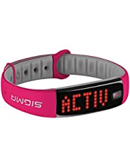 Sigma Activity Tracker ACTIVO, berry pink, 22912