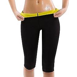 Legging Short de Sudation Amincissant Femmes Minceur en Néoprène Sweat Body Shapers Fitness