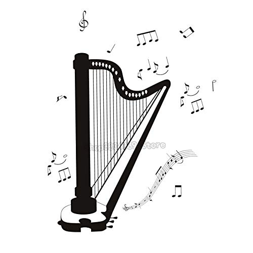 56 * 67cmSelf Adhesive DIY Whiteboard Home Decor All Kinds Musical Note Wohnzimmer Schlafzimmer...