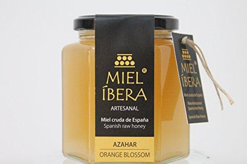 Miel de Azahar cruda, artesanal de España, sin mezclar y sin pasteurizar. Gourmet (500gr)