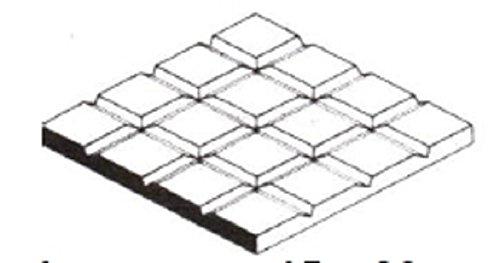 EVERGREEN 514507 Gehwegplatten, 300x600x1,0 mm Raster 12,7mm
