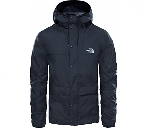 Fit-high Rise (North Face M 1985 Seasonal Celebration Mountain Jkt – Jacke, Herren, Schwarz (TNF Black/High Rise Grey))